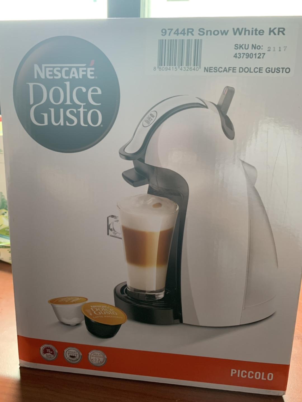 미개봉 Nescafe dolce gusto 캡슐커피머신 판매해요
