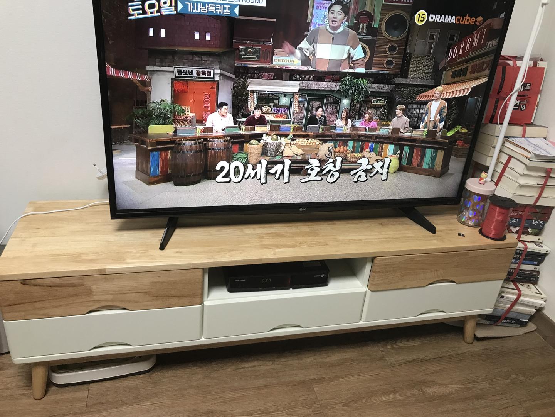 급처)가격 내림! TV 거실장/티비 다이 판매합니다