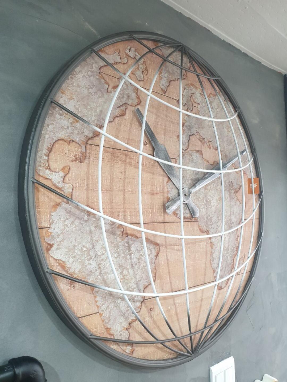 지구본 대형시계