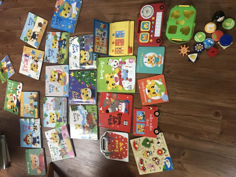 호비 책+ 장난감+ 인형