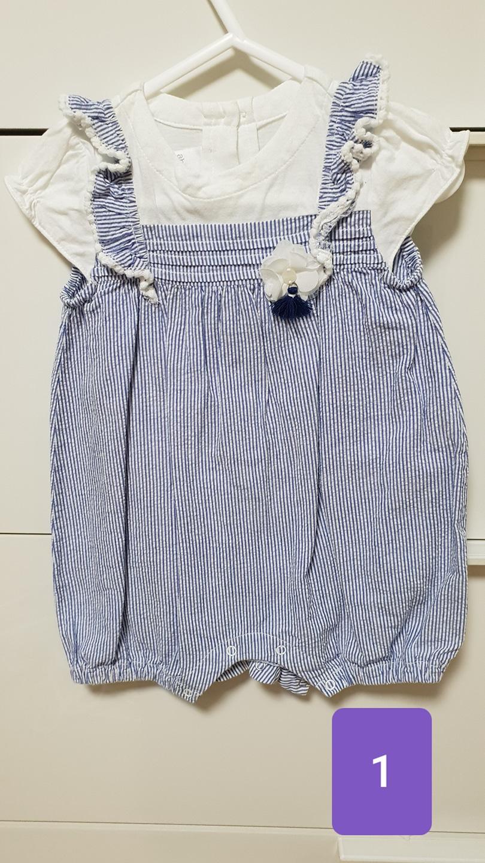 압소바 외 아기 여름옷 일괄