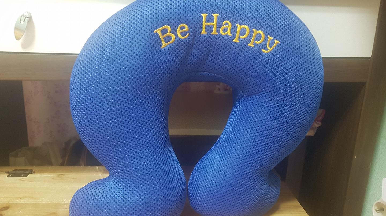 블루 목베개입니다.