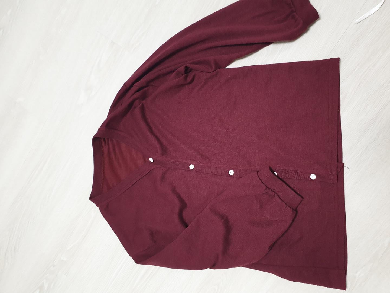 [옷장정리] 와인색 가디건 : 가볍게 입을수 있어요