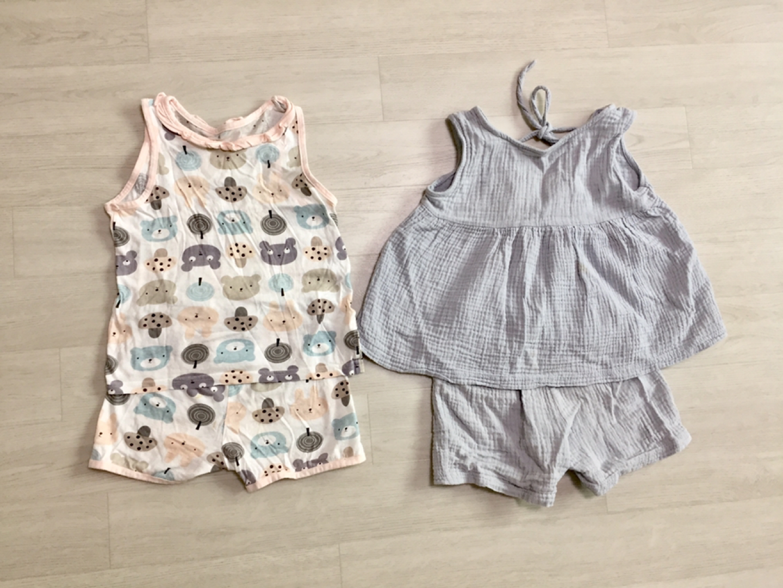110호 여름옷 일괄