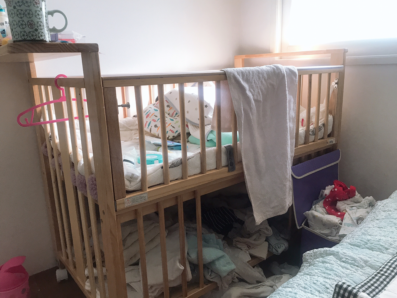 보니 원목 아기침대