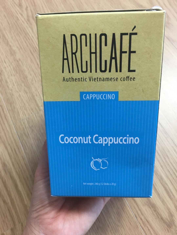 아치커피 코코넛 카푸치노