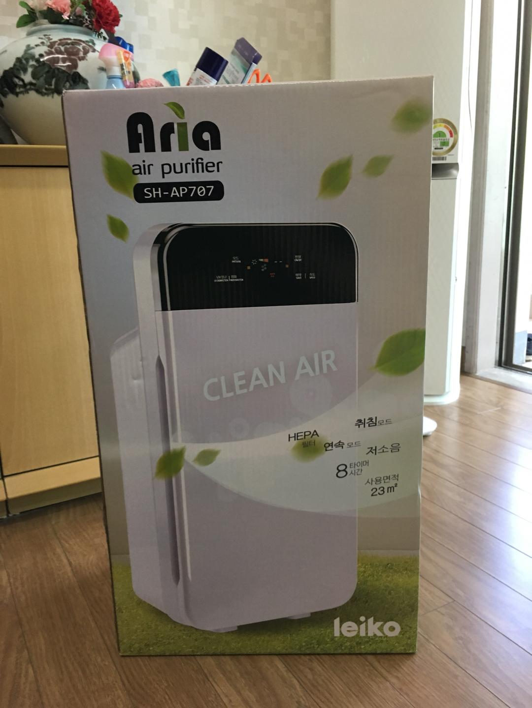 거실이나 큰방에 사용하기 좋은  공기 청정기