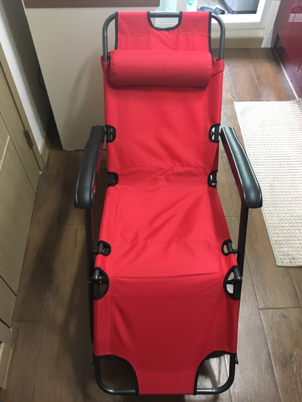접이식 캠핑의자, 캠핑체어 (안락의자, 누워지는 의자)