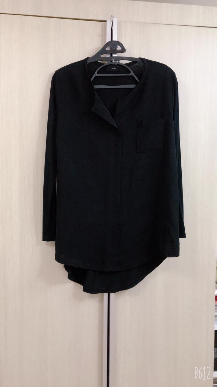 블랙 루즈한 티셔츠  ~66