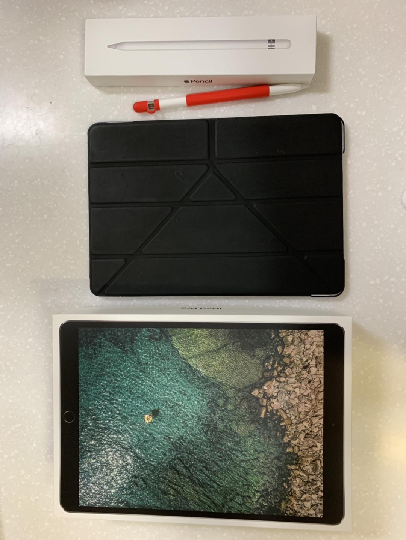 아이패드 프로 10.5인치 스페이스 그레이 256g 와이파이 + 애플펜슬 팔아요