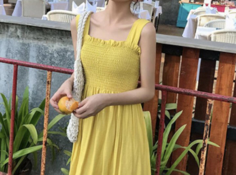 노란 원피스