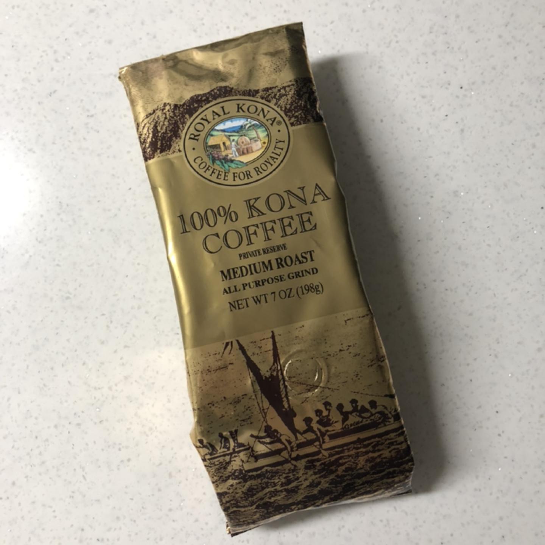 새제품 하와이 로얄코나 커피원두 분쇄된것 드립커피용 커피머신용