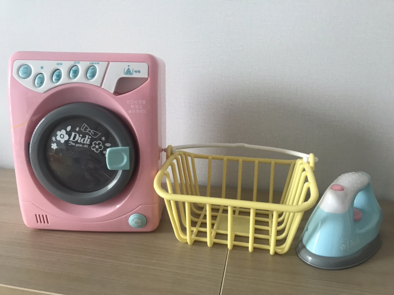 똘똘이 세탁기놀이