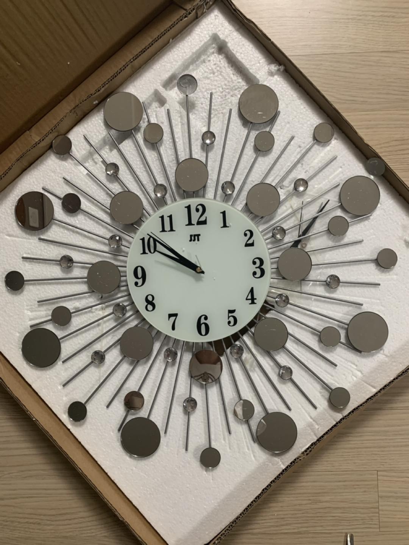 벽시계-무소음 써클큐빅벽시계