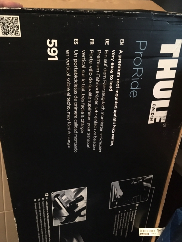 Thule 툴레 591 자전거 캐리어