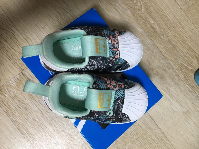 아디다스 유아 신발 140