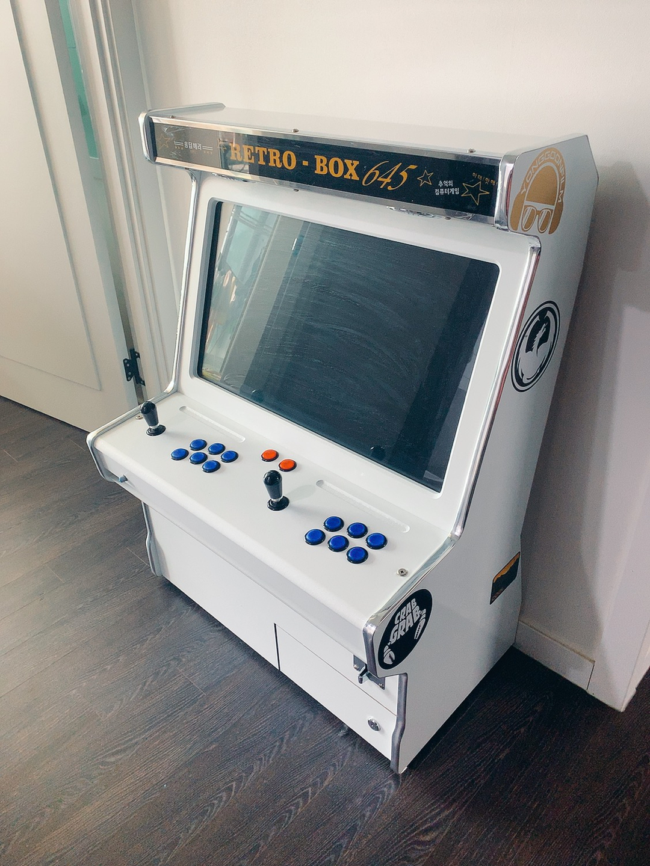 화사 게임기 2인용 오락실 게임기 레트로박스