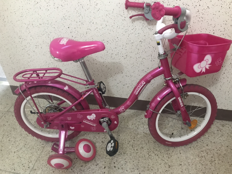 여아 핑크자전거 판매합니다,