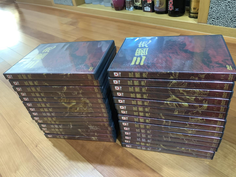 삼국지 DVD 84부작 (DVD 28편)