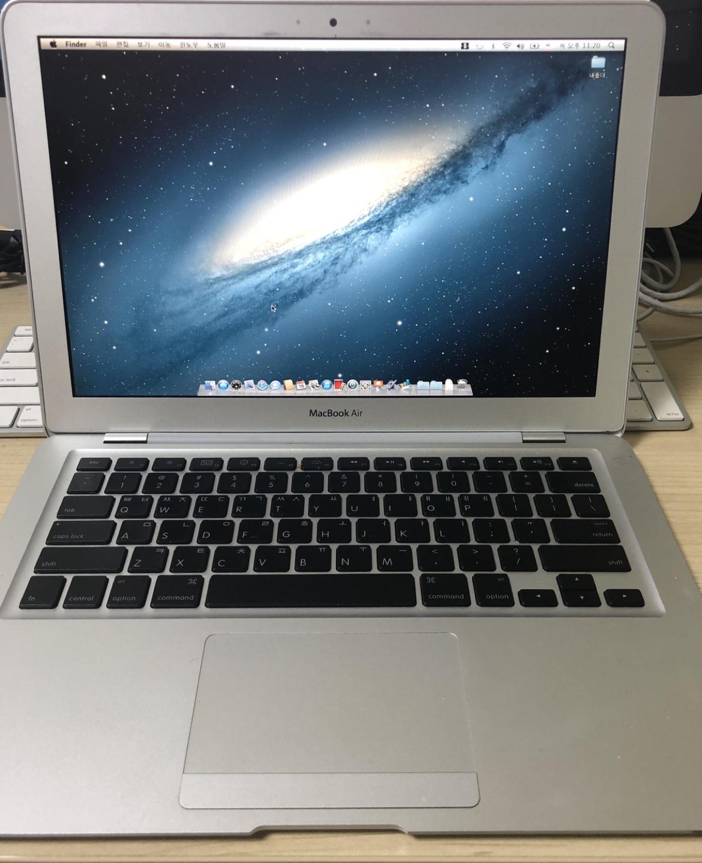 맥북에어 2009년형 13인치 + 애플정품 CD롬 포함(A급)