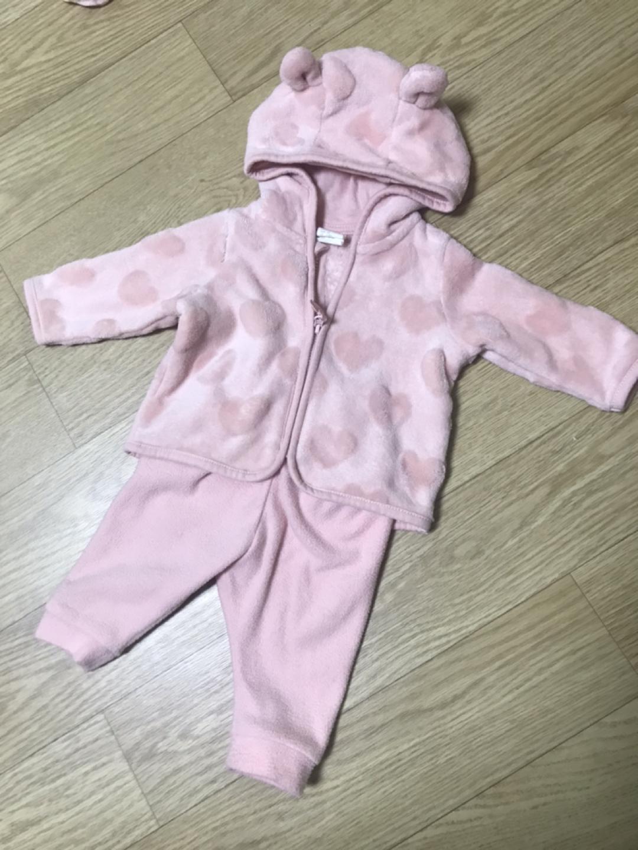HnM 후드집업 세트 1-2개월용 폴로모자 드림 신생아추리닝 신생아옷