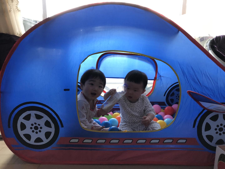 (가격내림)자동차 텐트(볼풀장), 공 판매해요