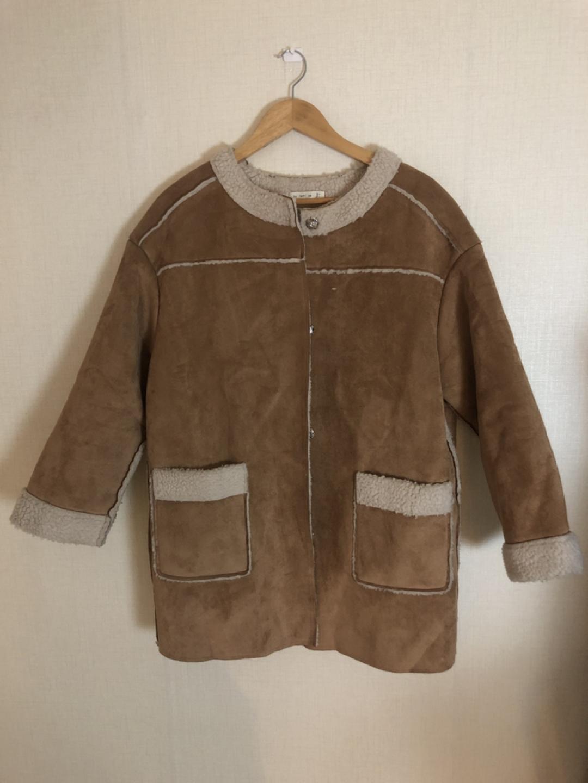 무스탕 코트
