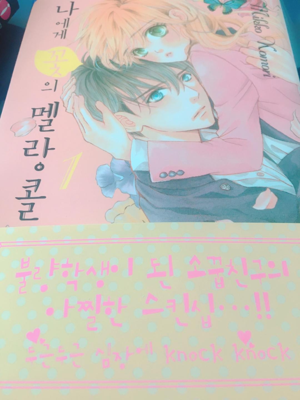 도서 - 나에게 꽃의 멜랑콜리 1,2,3권