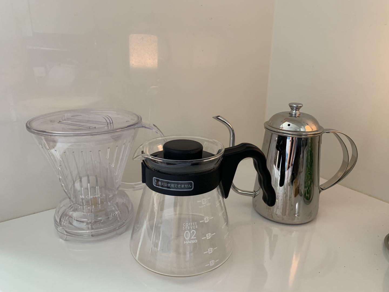 커피 핸드드립- 서버, 주전자