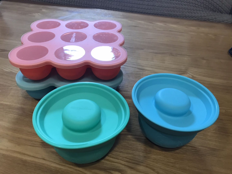 원마이스터 어도러볼 이유식용기 이유식보관용기 이유식그릇 아기그릇 실리콘이유식 이유식기 실리콘그릇