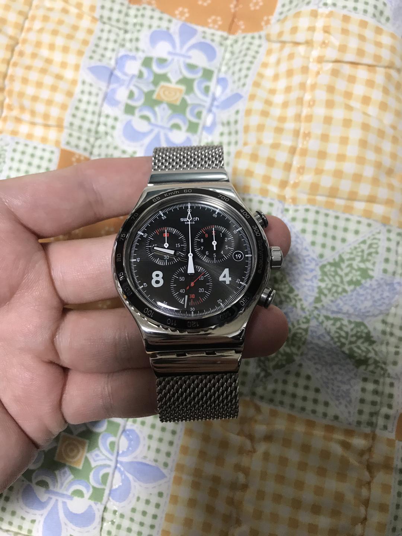 swatch 시계 정품 35만원 판매 풀박스 상태A급! 크로노그래프