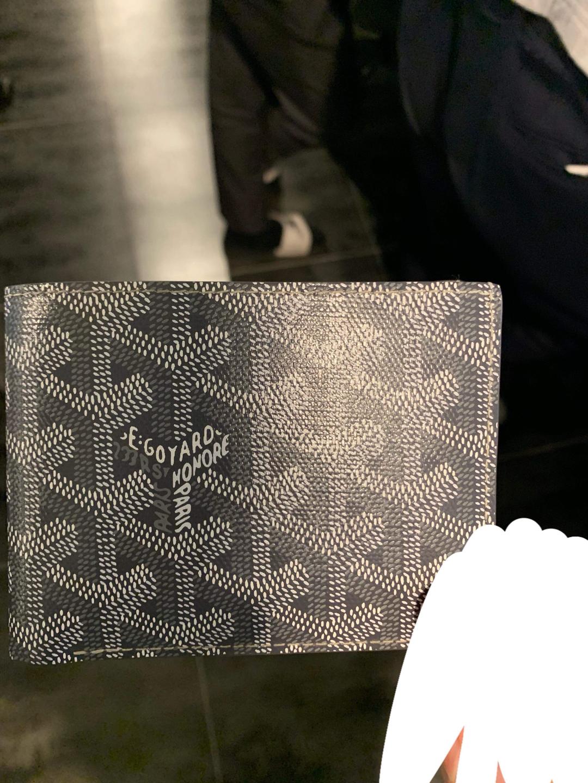 고야드(특수색)그레이남성반지갑풀박스(새재품)