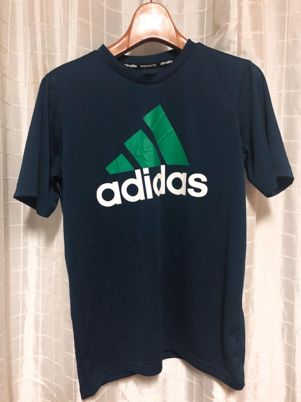 아디다스 네이비 티셔츠