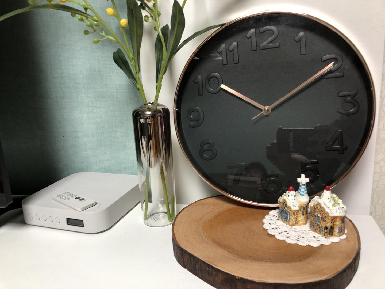저소음 시계 벽걸이 시계 인테리어 시계 새제품 박스포함