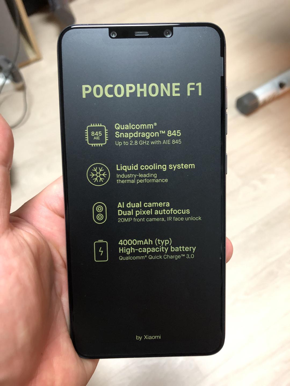 포코폰 (POCOPHON) F1 미개봉 판매중