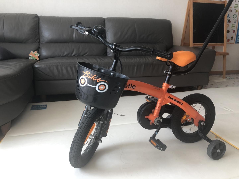 조코 비틀 12인치 유아자전거 4발자전거 아동자전거 4-6세