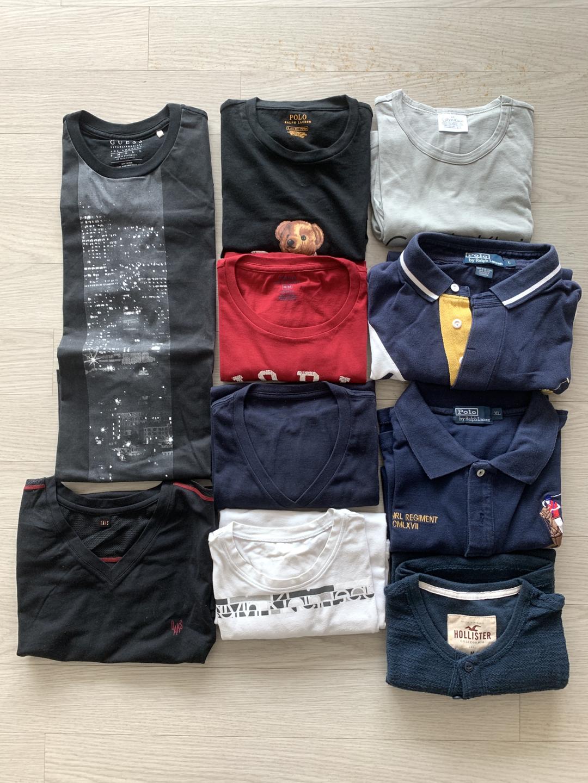 [새상품] 폴로 카라티 및 CK 티셔츠 등