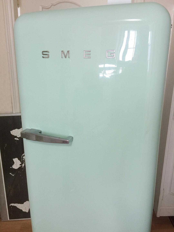 스메그 냉장고 fab28 민트