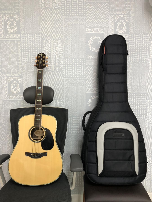통기타 기타 크래프터 dx-7sr, mono 기타가방 일괄