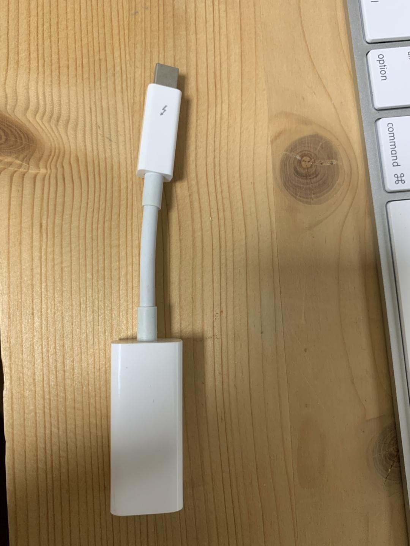맥북 선더볼트-기가비트 유선랜 케이블