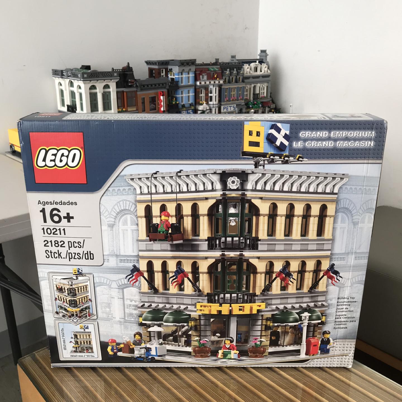 중고. 레고 모듈러 백화점 ( 10211 )