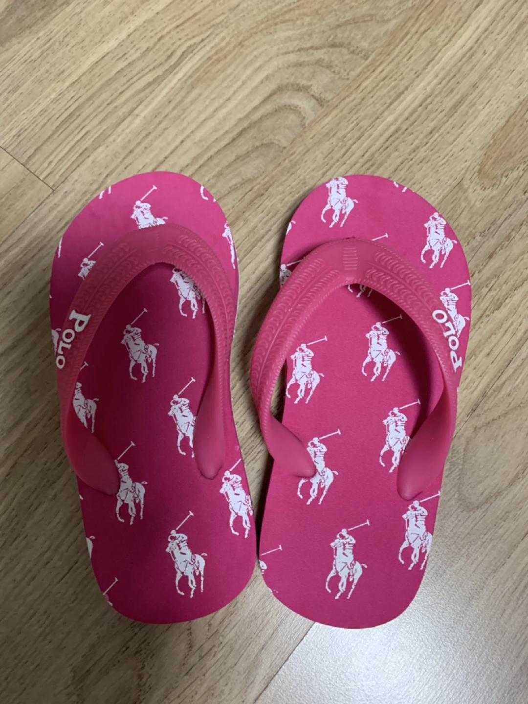 폴로 쪼리 새신발