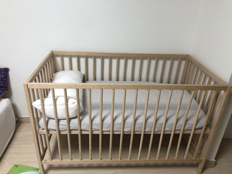 이케아 아기침대