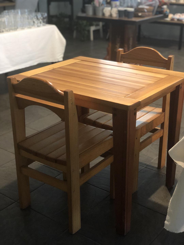 2인 식탁의자