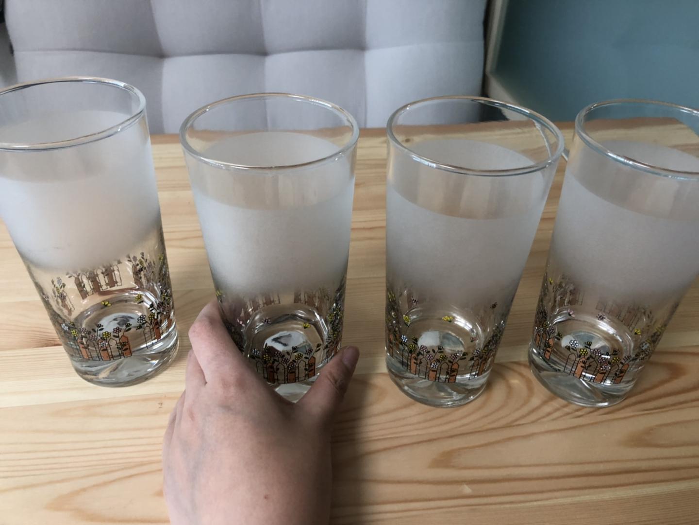 유리컵 물잔 음료수컵