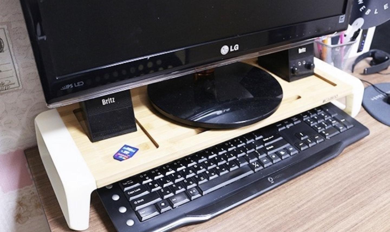 모니터받침대 컴퓨터정리 (카미노모니터받침대)