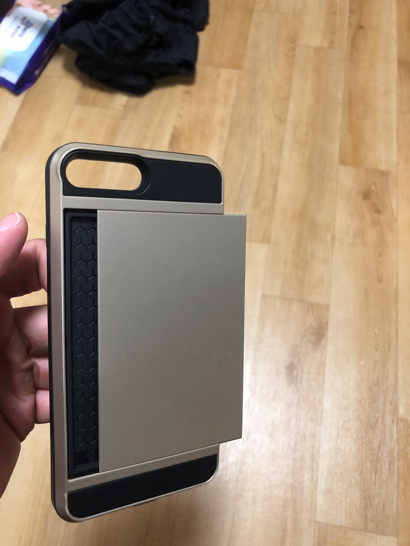 아이폰7플러스 or 아이폰8플러스 카드케이스팝니다.(카드2장이상 수납가능)