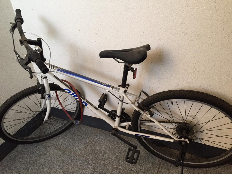 거의 안타본 새 자전거