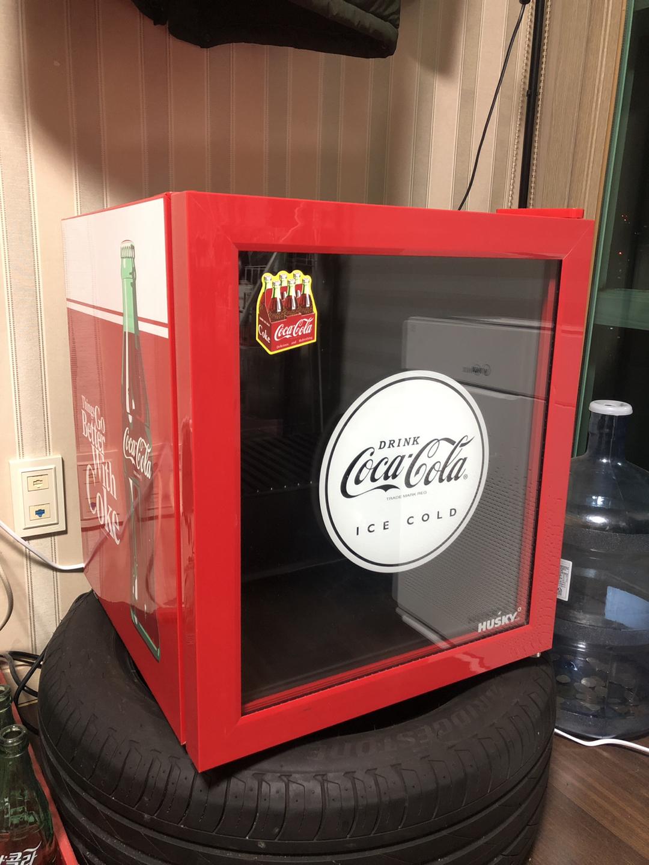 코카콜라 냉장고 팝니다.