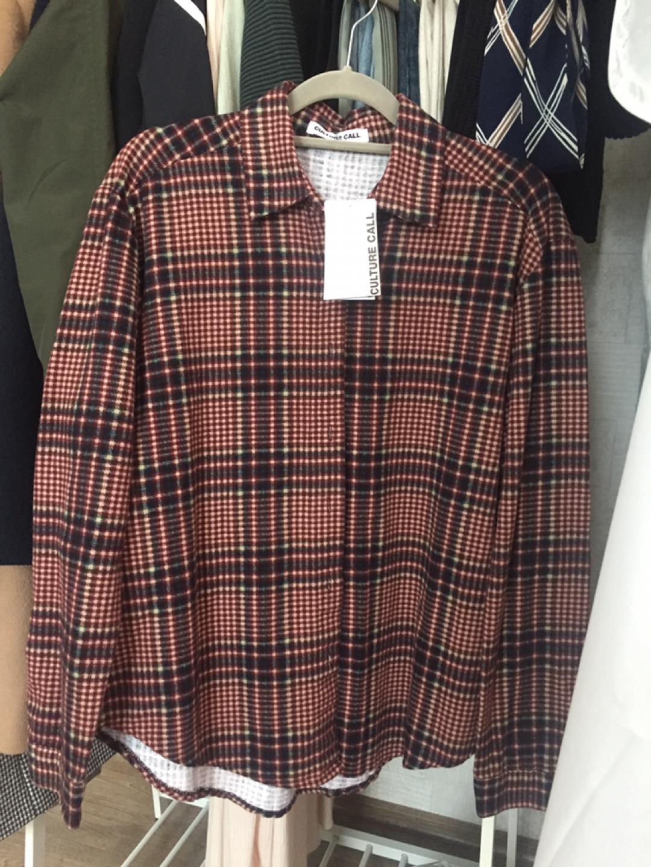 (새상품) 컬쳐콜 체크 셔츠